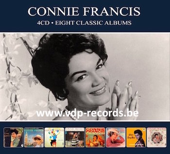 Francis ,Connie - Eight Classic Albums ( 4 cd's )